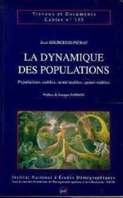 La dynamique des populations - Couverture - Format classique