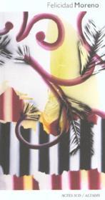 Felicidad Moreno - Couverture - Format classique