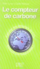Le compteur de carbone - Couverture - Format classique