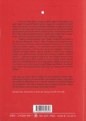 Mesure Pour Mesure - 4ème de couverture - Format classique