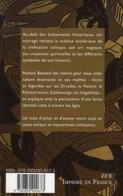 Les Celtes Et Les Druides - 4ème de couverture - Format classique