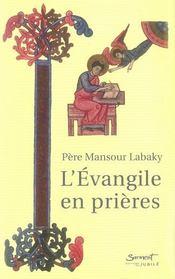 L'évangile en prières - Intérieur - Format classique