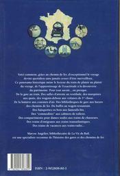 Voyage En Train Au Temps Des Compagnies - 4ème de couverture - Format classique