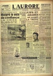 Aurore (L') N°1156 du 02/06/1948 - Couverture - Format classique