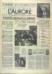 Aurore (L') N°9758 du 22/01/1976 - Couverture - Format classique