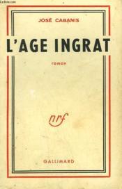 L'Age Ingrat. - Couverture - Format classique