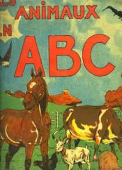 Les Animaux En Abc - Couverture - Format classique