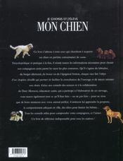 Je Choisis Et J'Eleve Mon Chien - 4ème de couverture - Format classique
