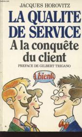 La Qualité De Service - Couverture - Format classique