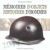 Memoires D'Objets, Histoires D'Hommes - Intérieur - Format classique