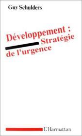 Développement : stratégie de l'urgence - Couverture - Format classique