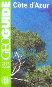 Geoguide ; Côte D'Azur (Edition 2007-2008) - Intérieur - Format classique