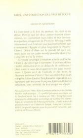 L'Islam En Questions Babel 530 - 4ème de couverture - Format classique