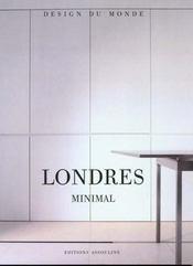 Londres Minimal - Intérieur - Format classique