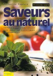 Saveurs Au Naturel - Intérieur - Format classique