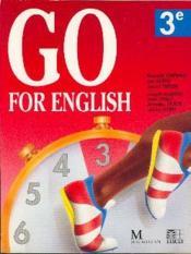 Go For English 3e (Afrique De L'Ouest) - Couverture - Format classique