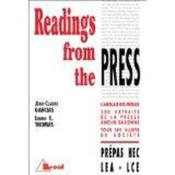 Readings from the press - Couverture - Format classique