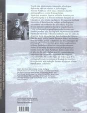 Une aventure archeologique ; Antoine Poidebard, photographe et aviateur - 4ème de couverture - Format classique