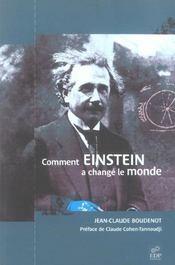 Comment Einstein a changé le monde - Intérieur - Format classique