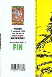 Les chevaliers du zodiaque t.23 - 4ème de couverture - Format classique