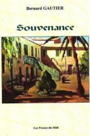 Souvenance - Couverture - Format classique