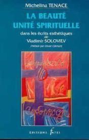 Beaute Unite Spirituelle - Couverture - Format classique