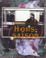 Francis Cabrel - Hors Saison + Cd - Intérieur - Format classique
