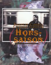 Francis Cabrel - Hors Saison + Cd - Couverture - Format classique