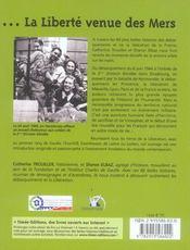 La liberte venue de mers - 4ème de couverture - Format classique