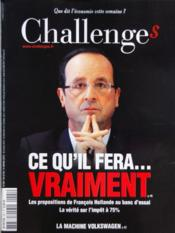 Challenges N°291 du 08/03/2012 - Couverture - Format classique