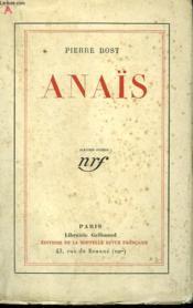 Anaïs. - Couverture - Format classique