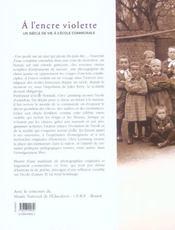 A L'Encre Violette - 4ème de couverture - Format classique