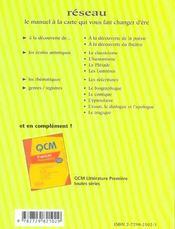 L'Ecrit Et L'Oral Du Bac Francais La Methode Par Les Exemples 1re 2e Edition - 4ème de couverture - Format classique