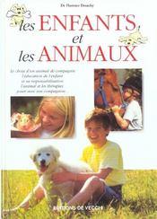 Les Enfants Et Les Animaux - Intérieur - Format classique