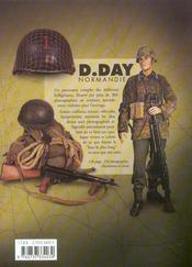 D Day Normandie- Armes, Uniformes, Materiels - 4ème de couverture - Format classique