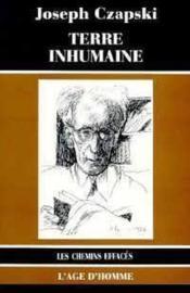 Terre Inhumaine - Couverture - Format classique