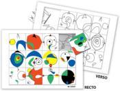 Puzzle à la manière de... Miró - Couverture - Format classique