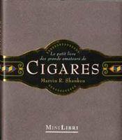 Cigares le petit livre des grands amateurs de cigares - Intérieur - Format classique