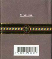 Cigares le petit livre des grands amateurs de cigares - 4ème de couverture - Format classique