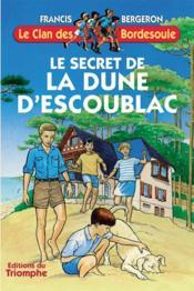 Le secret de la dune d'Escoublac - Couverture - Format classique