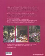 Tables d'amis, tables calines - 4ème de couverture - Format classique