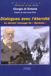 Dialogues avec l'eternite - Intérieur - Format classique