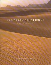 L'Emotion Saharienne - Intérieur - Format classique