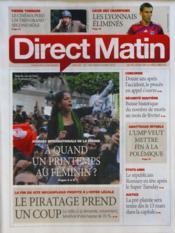 Direct Matin N°1045 du 08/03/2012 - Couverture - Format classique