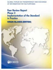 Vente livre :  Global Forum on Transparency and Exchange of Information for Tax Purposes Peer Reviews: Virgin Islands (British) 2013 ; phase 2   - Collectif