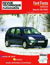 Rta 671.1 Ford Fiesta Essence Depuis 05/02 - Couverture - Format classique