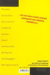 La Philosophie En Clair 3e Edition 10 Classiques Serieusement Despoussieres - 4ème de couverture - Format classique