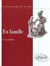 En Famille En Grece - Intérieur - Format classique