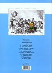 Cédric t.2 ; classes de neige - 4ème de couverture - Format classique