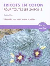 Tricots En Coton Pour Toutes Les Saisons - Intérieur - Format classique
